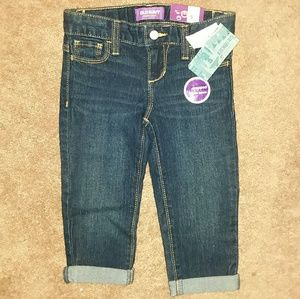 Old Navy Girls Skinny Cropped Jeans Sz 5